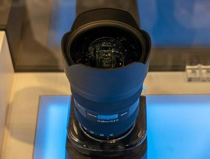 Tokina opera 16-28mm f/2 8 FF Lens for Canon EF at Photokina 2018