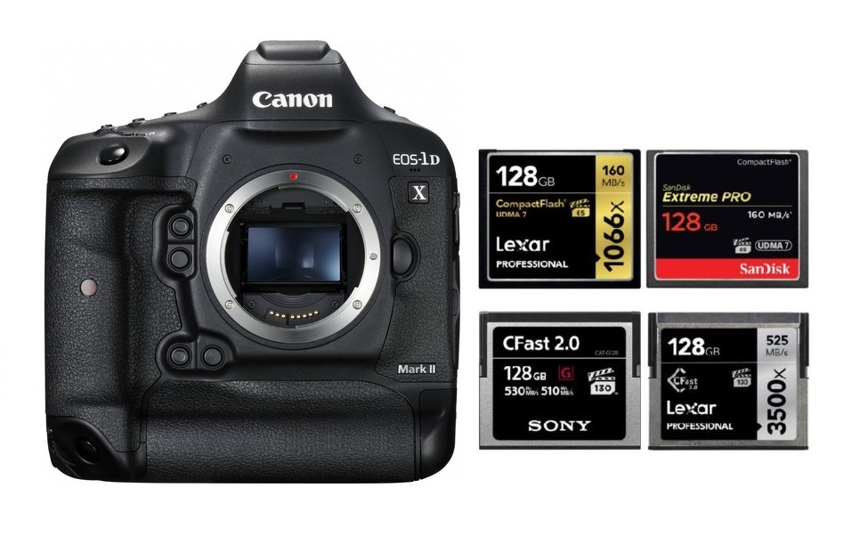 Best Memory Cards For Canon Eos 1d X Mark Ii Canon Camera Rumors