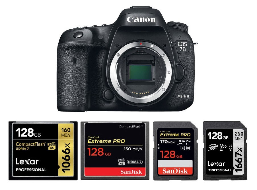 Best Memory Cards For Canon Eos 7d Mark Ii Canon Camera Rumors