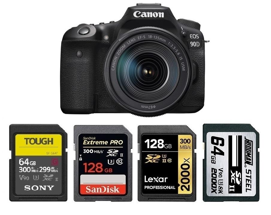 Memory Card Reader Writer for Canon EOS Rebel SL3 M100 RP