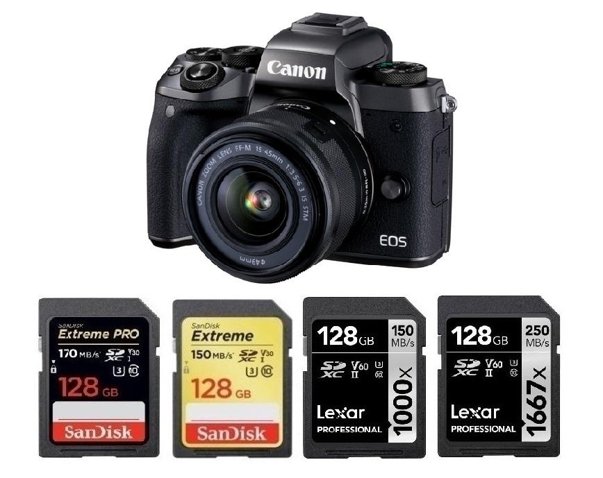 SDHC Canon EOS M5 Digital Camera Memory Card 2 x 32GB Secure Digital High Capacity Memory Cards 2 Pack