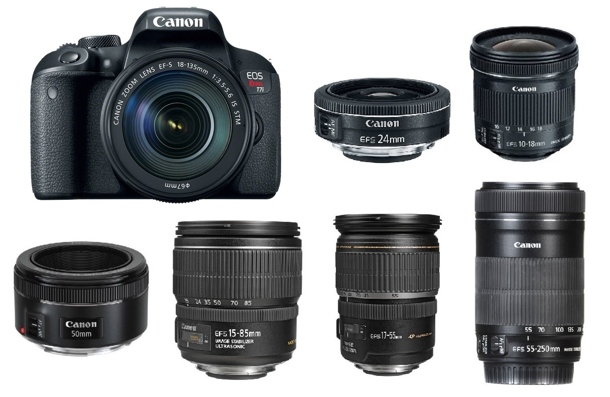 lenses for Canon T7i
